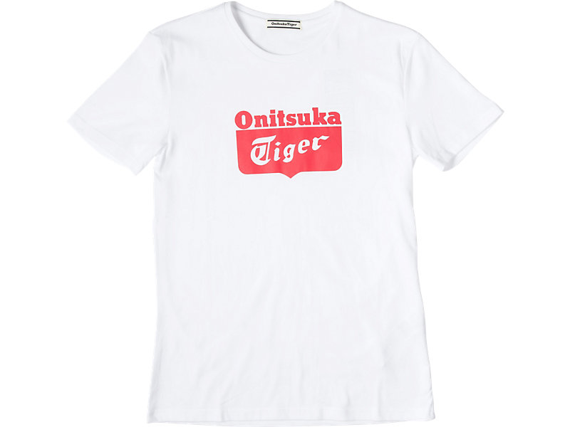 LOGO T-SHIRT WHITE/ RED 1 FT
