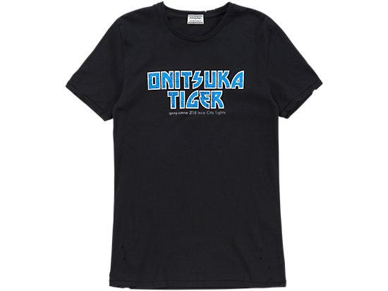 GRAPHIC T-SHIRT, BLACK/BLUE