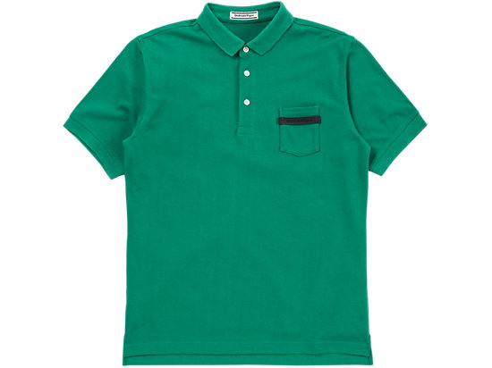 POLO SHIRT, GREEN