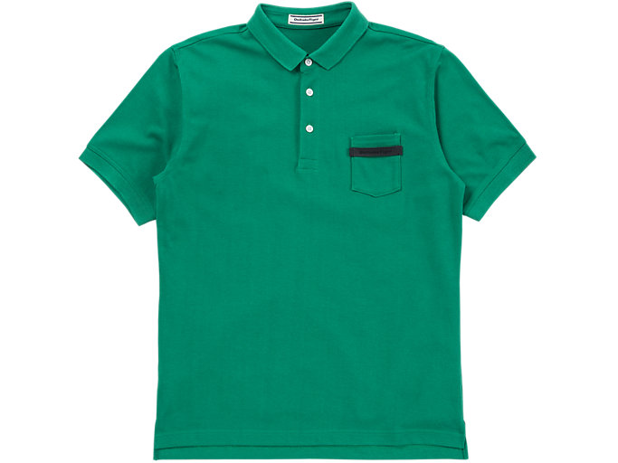 Front Top view of POLO, GREEN