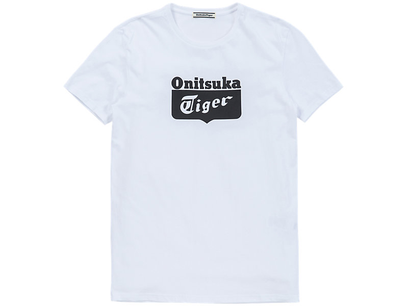 Logo T-Shirt White/Black 1 FT