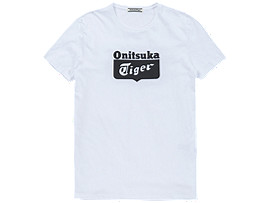 LOGO T-SHIRT, WHITE/BLACK