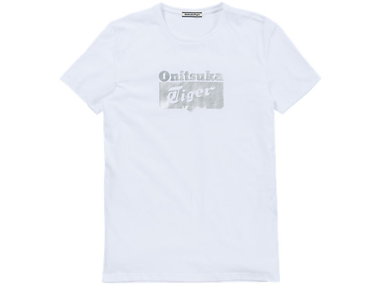 LOGO短袖 白色/银色