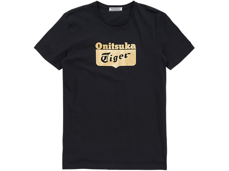 Logo T-Shirt Black/Gold 1 FT