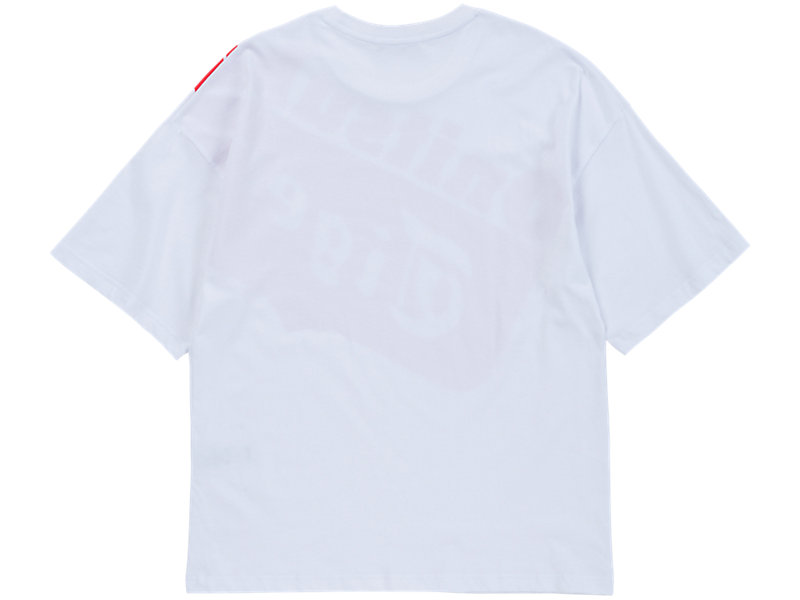 GRAPHIC T-SHIRT WHITE/ RED 5 BK