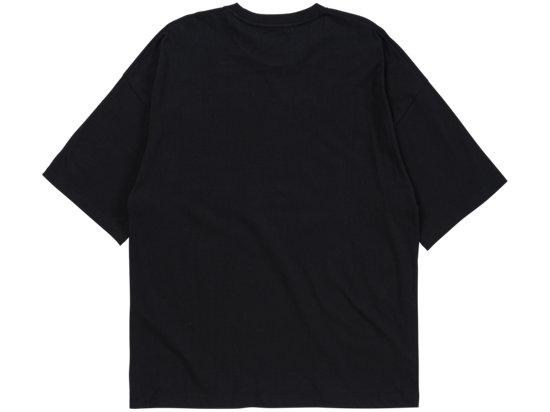 印花短袖 黑色/白色