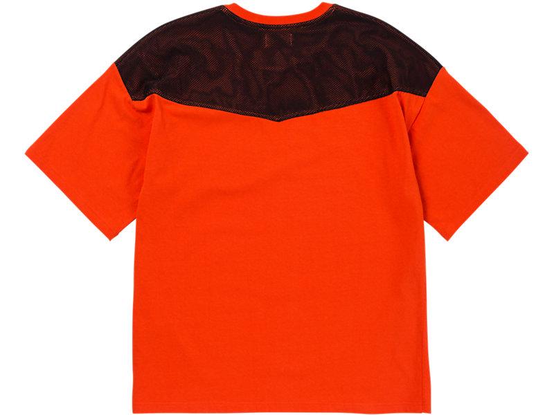 Mesh T-Shirt Orange/Black 5 BK