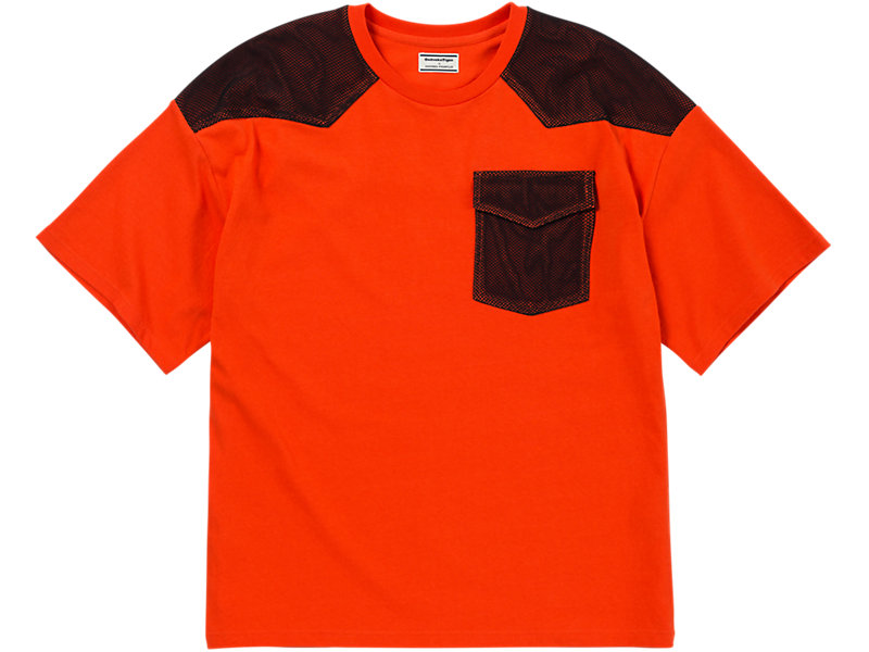 Mesh T-Shirt Orange/Black 1 FT