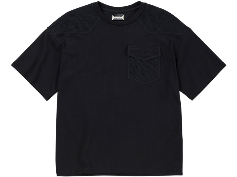 MESH T-SHIRT BLACK/ BLACK 1 FT