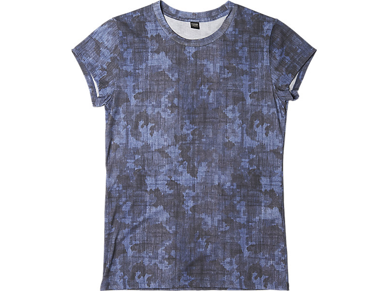 Womens Graphic T-Shirt Navy Camo 1