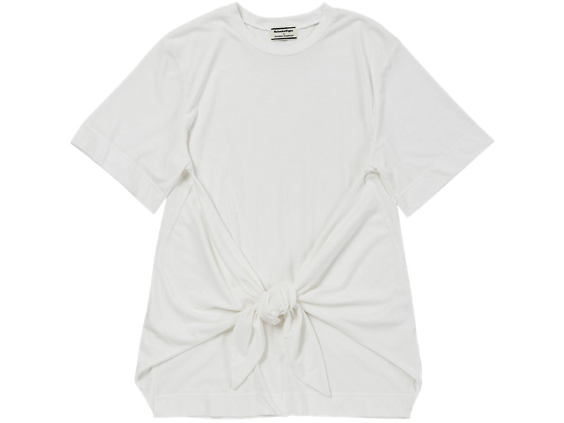 Knotted T-Shirt White 1 FT