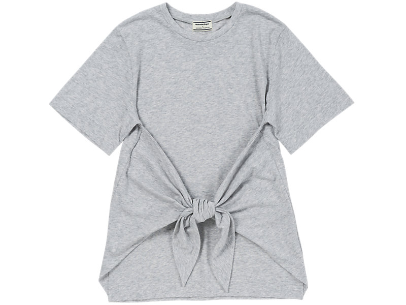 Knotted T-Shirt Gray 1 FT
