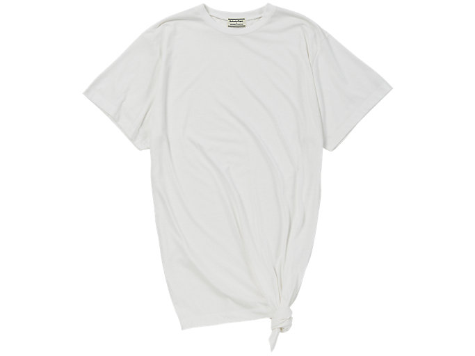 Front Top view of WS T-SHIRT, WHITE