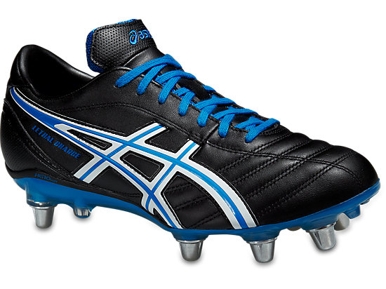 LETHAL CHARGE, Black/White/Electric Blue
