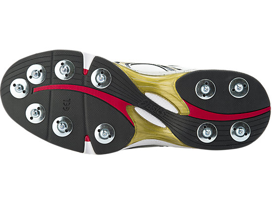 GEL-Speed Menace (4E) White / Black / Gold 7