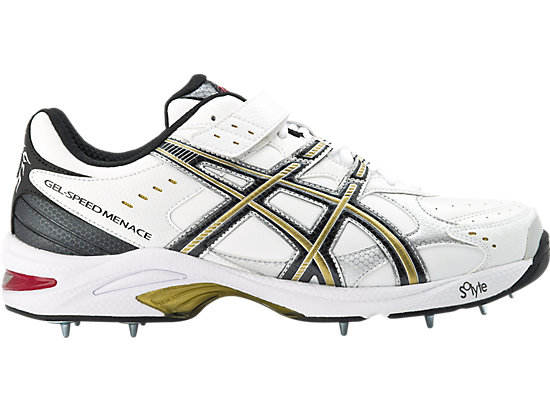 GEL-Speed Menace (4E) White / Black / Gold 15