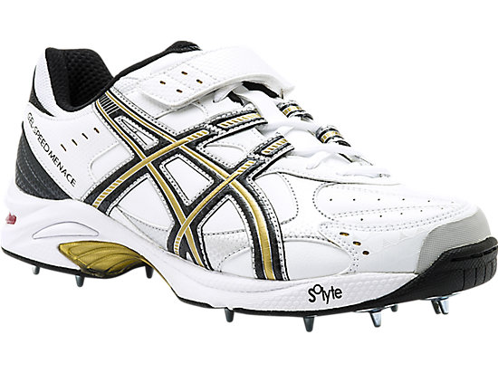 GEL-Speed Menace Lo Right White / Black / Gold 3