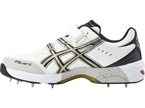 GEL-Speed Menace Lo Right White / Black / Gold 11