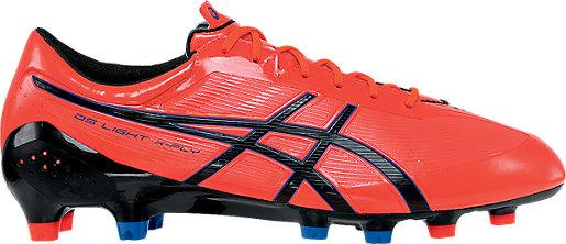ASICS Men DS Light X FLY MS Flash Pink/Black/Blue Soccer Shoes