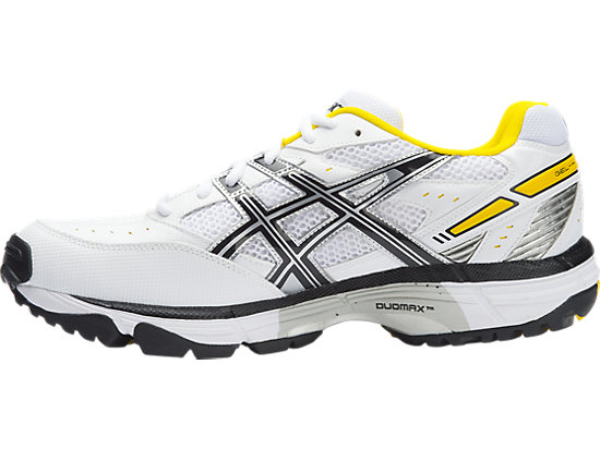 GEL-Hardwicket 5 White / Black / Yellow 11