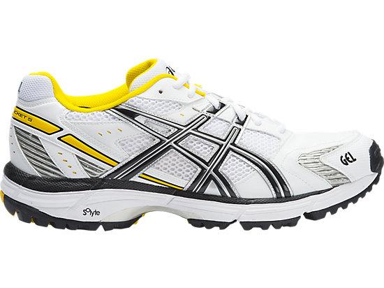 GEL-Hardwicket 5 White / Black / Yellow 15