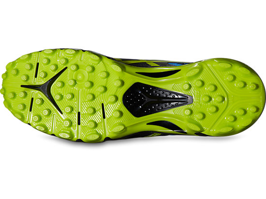 GEL-HOCKEY TYPHOON 2 BLACK/NEON YELLOW/SILVER 15 BT
