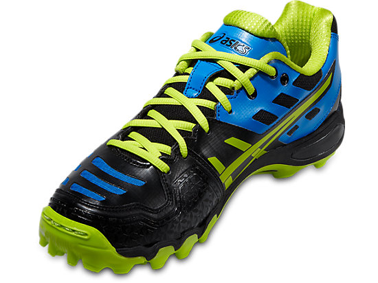 GEL-HOCKEY TYPHOON 2 BLACK/NEON YELLOW/SILVER 7