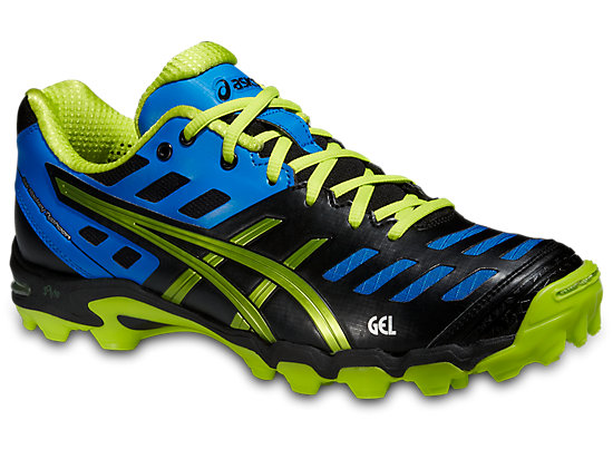 GEL-HOCKEY TYPHOON 2 BLACK/NEON YELLOW/SILVER 3