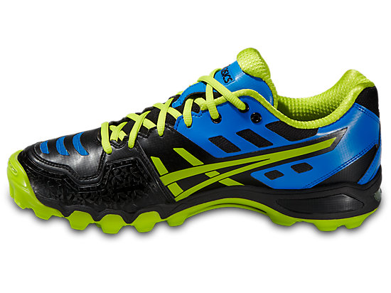 GEL-HOCKEY TYPHOON 2 BLACK/NEON YELLOW/SILVER 11 LT