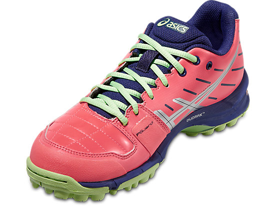 GEL-HOCKEY NEO 3 WOMEN FLASH CORAL/SILVER/PISTACHIO 7
