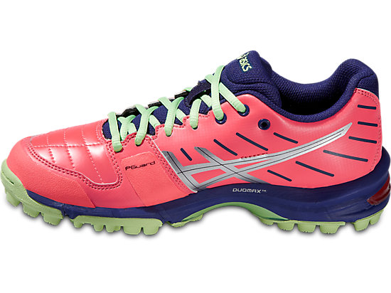 GEL-HOCKEY NEO 3 WOMEN FLASH CORAL/SILVER/PISTACHIO 11