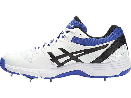 GEL-100 Not Out White / Onyx / Blue 11