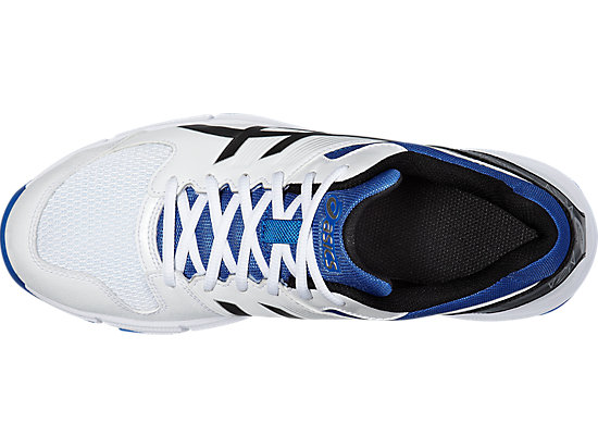 GEL-100 NOT OUT WHITE/ONYX/BLUE 19