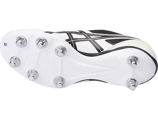 Lethal Tackle WHITE/BLACK/GREEN GECKO 7