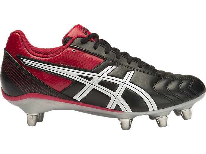 LETHAL TACKLE, BLACK/RACING RED/WHI