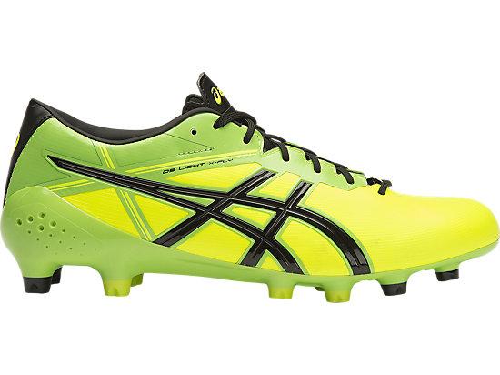 asics football boots green