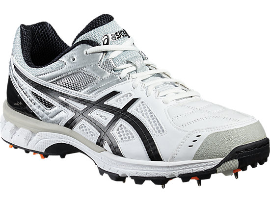 GEL-220 NOT OUT WHITE/BLACK/SILVER 7 FR