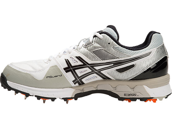GEL-220 NOT OUT WHITE/BLACK/SILVER 11