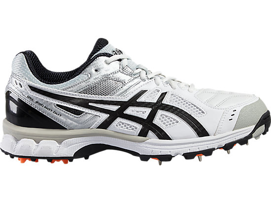 GEL-220 NOT OUT WHITE/BLACK/SILVER 3 RT