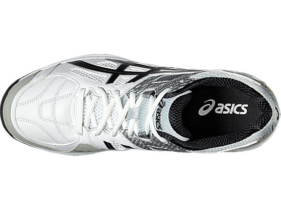 GEL-220 NOT OUT WHITE/BLACK/SILVER 19 TP