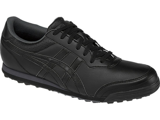 Gel preshot classic 2 men black onyx dark grey asics us for Classic house golf shoes