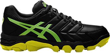 4f7ff88d7e GEL-BLACKHEATH 6 | Men | Black/Green Gecko/Safety Yellow | ASICS ...