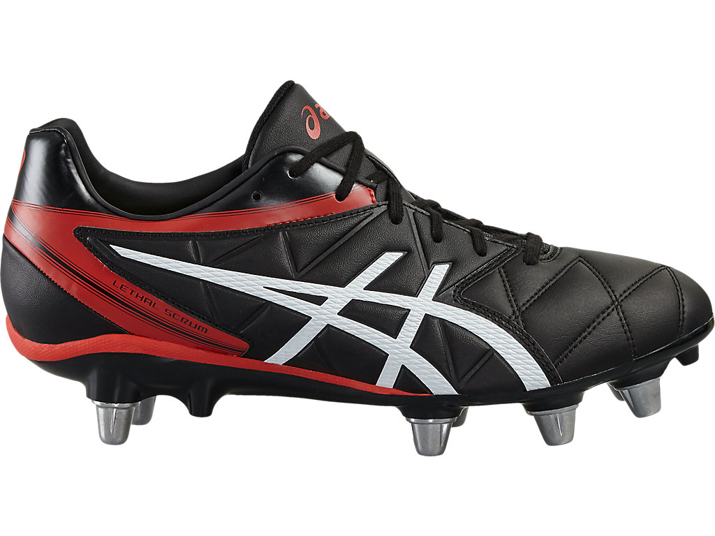 3340f548c488 ASICS LETHAL SCRUM Rugby Boots Mens White