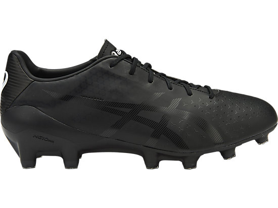 asics black football boots