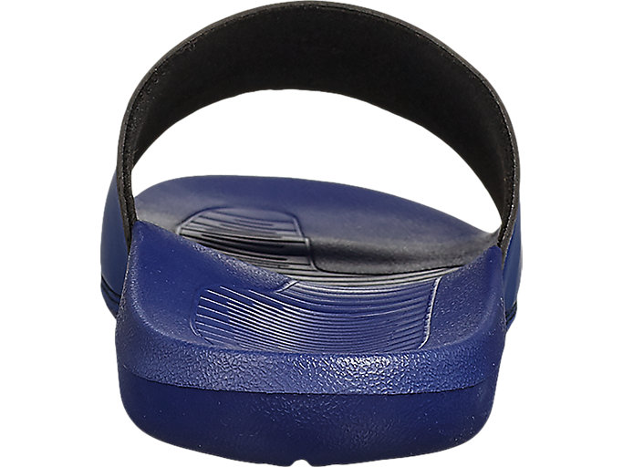 Back view of AS003, INDIGO BLUE/INDIGO BLUE