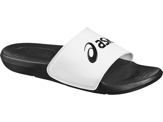 Front Right view of AS003, BLACK/WHITE
