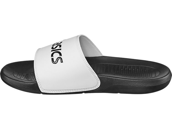 Left side view of AS003, BLACK/WHITE