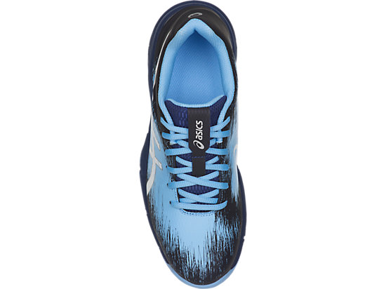 GEL-HOCKEY TYPHOON 3 BLUE PRINT/WHITE