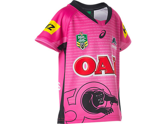 Penrith Panthers Replica Away Jersey - Infants PINK 7