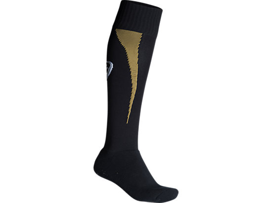 Penrith Panthers Replica Main Sock Black / Lime Green / Yellow 3